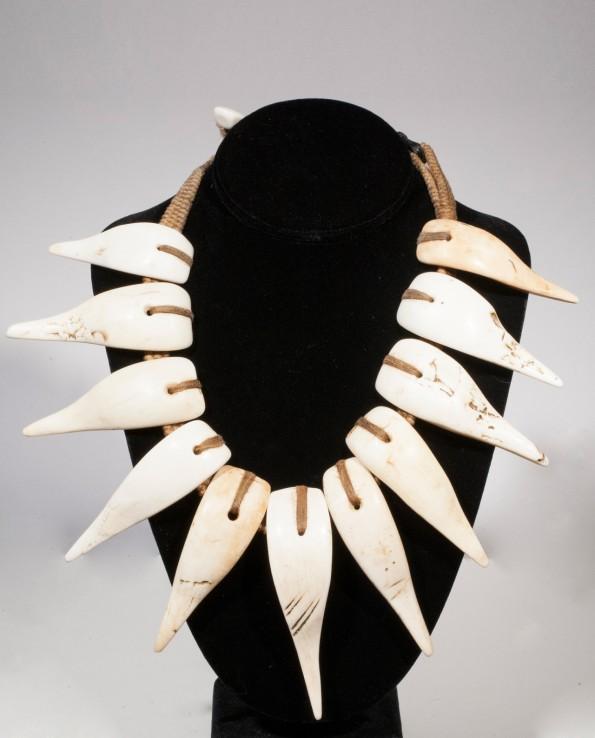 Shell necklace, Konyak tribe, Nagaland