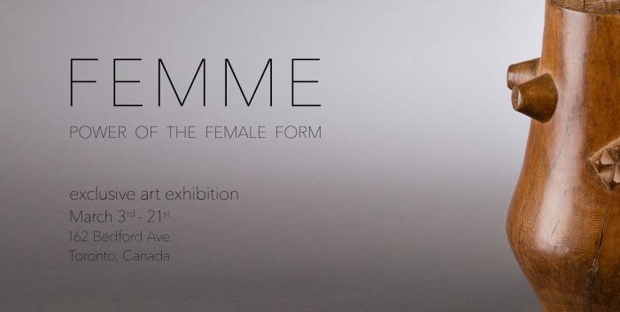 FEMME art exhibit