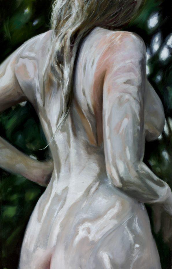 Anthracite, Reisha Perlmutter, painting