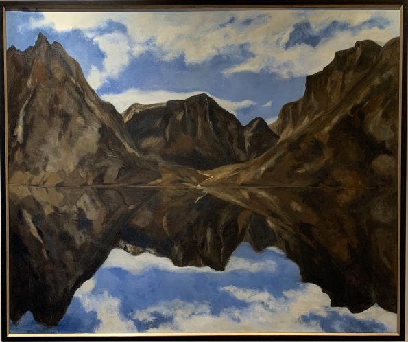Calm Before Nanuq,  Candace Wilson, painting